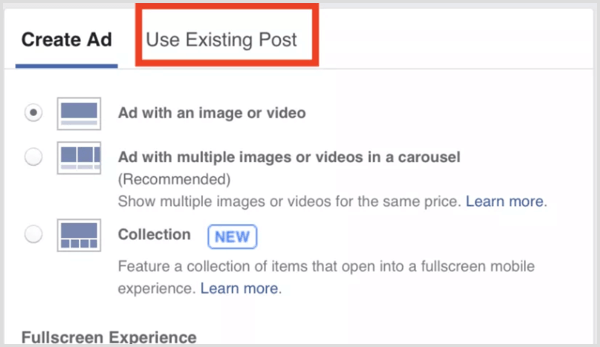facebook-ad-use-existing-post